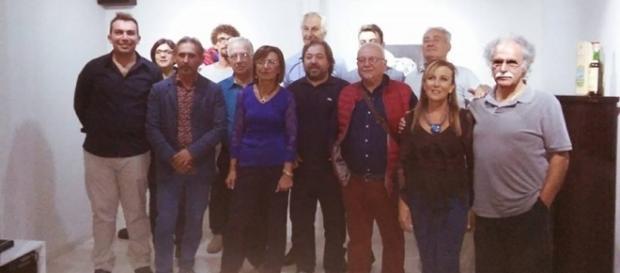 Amedeo Fusco inaugura la Collettiva VI presso il Centro di Aggregazione Culturale di Ragusa