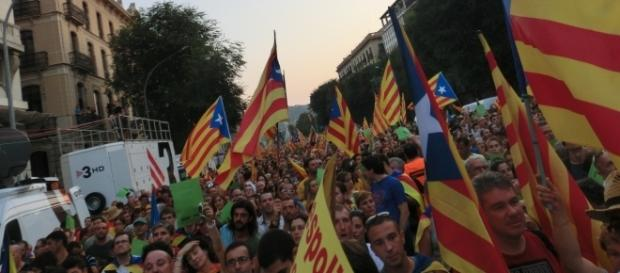 Catalan independence movement (Image by Arnaucc Via: Wikimedia Commons https://goo.gl/FfgdCb)