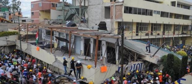 Derrumbe de Colegio en México marca catástrofe