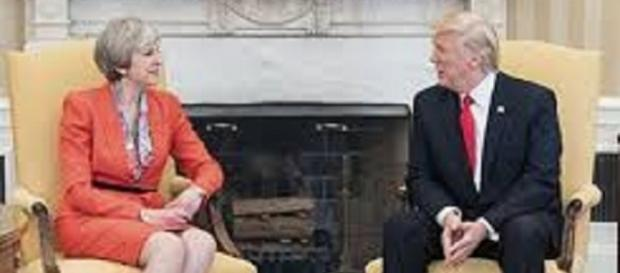 Donald Trump and Theresa May/WikiMedia/https://commons.wikimedia.org/wiki/File:Donald_Trump_and_Theresa_May_(33998675310)_(cropped).jpg