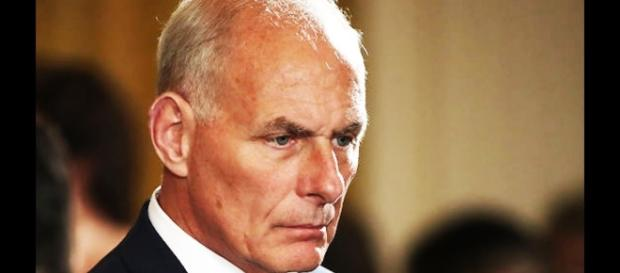 John Kelly allegedly had a shouting match with Trump. Image credit - The Young Turk.