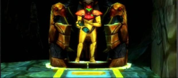 Samus in 'Metroid: Samus Returns.' (image source: YouTube/XCageGame)