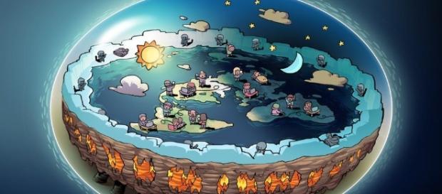 Terraplanistas apontam para suposta conspiração envolvendo as agências espaciais e a mídia - bbc.com