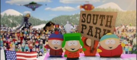 A clip of 'South Park.' [Image via YouTube/Hulu]