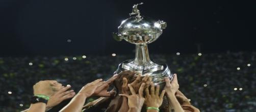 A cobiçada taça da Libertadores
