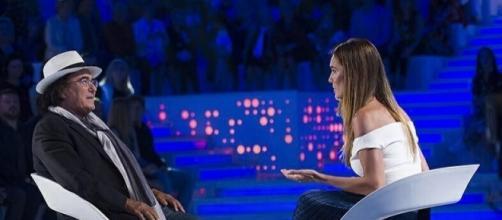 Albano Carrisi intervistato da Silvia Toffanin