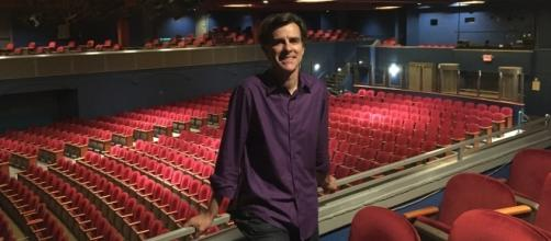 Andrew Byrne is the Artistic Director of Symphony Space in New York City. / Photo via Andrew Byrne and Symphony Space, used with permission.