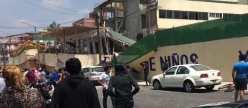 El Colegio Rébsamen de Coapa se considera el edificio más afectado por el terremoto de México de 7.1 grados