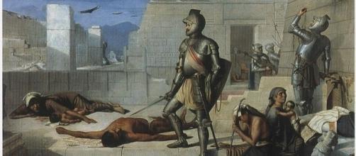 La matanza de Cholula, Félix Parra