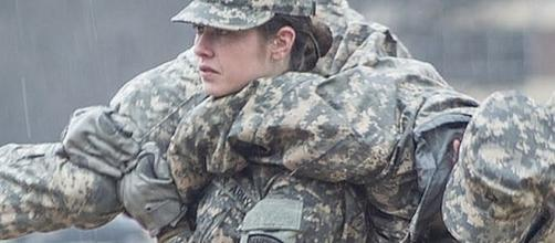 Marines is getting its first female infantry officer [Image: United News International/YouTube screenshot]