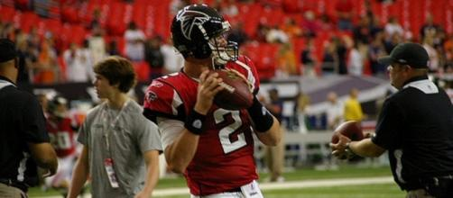 Matt Ryan has shown no signs of a Super Bowl hangover through two games. Image Source: Flickr