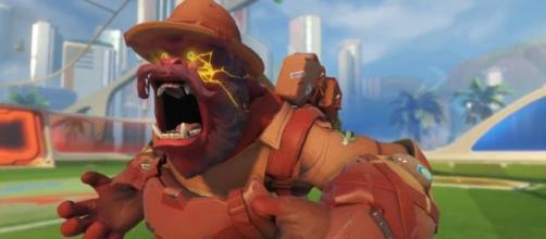 'Overwatch' hero Winston. (image source: YouTube/Carlos Ramirez)