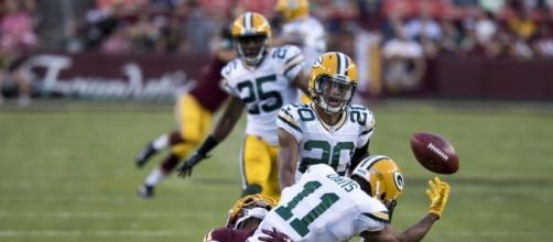 Green Bay Packers playing the Washington Redskins Photo credit: Wikimedia Commons