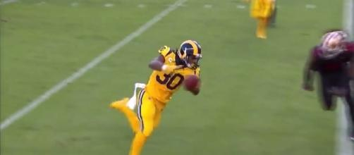 Todd Gurley - NFL Highlights History via YouTube (https://www.youtube.com/watch?v=pue9A228OEs)