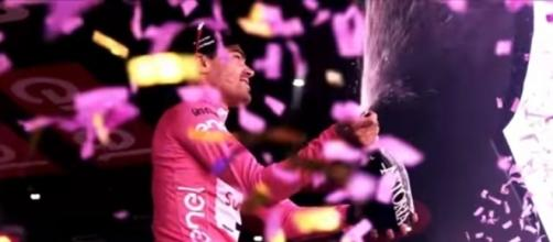 Tom Dumoulin, campione in carica al Giro d'Italia
