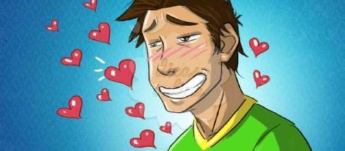 Um homem apaixonado revela o seu verdadeiro amor em 8 formas