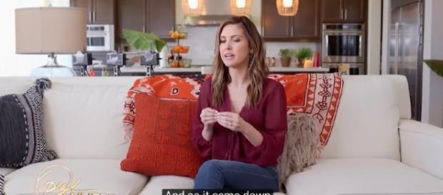Audrina Patridge files for a divorce from former husband . [Image Credit: OWN/YouTube]