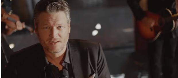 "Blake Shelton announces new album, ""Texoma Shore."" [Image credit: YouTube/BlakeShelton]"