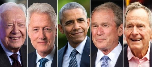 Cinco expresidentes buscan la manera de apoyar a las víctimas.