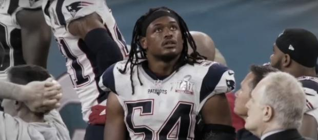 Dont'a Hightower returns to practice. [Image via YouTube/NFL]