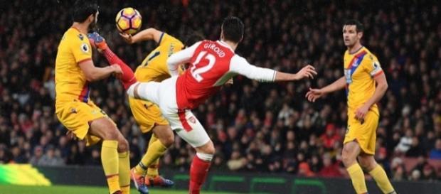 Gol de Giroud contra o Crystal Palace é um dos concorrentes