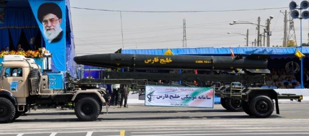 Iran has paraded a new nuclear warhead in response to Trump's UN speech. Source;commons.wikimedia.org