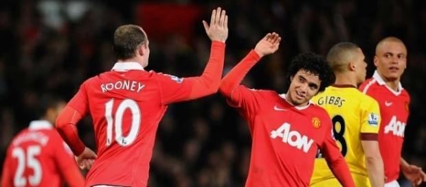 Jogadores do Manchester United