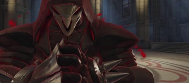 'Overwatch' hero Reaper. (image source: YouTube/Konshu)