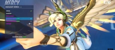 The healer Mercy - YouTube/Warp 10 Overwatch