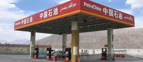 A PetroChina station in Xinjiang, China (credit – Otebig - Wikimedia Commons)