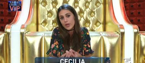 Cecilia Rodriguez parla male di Teresanna Pugliese