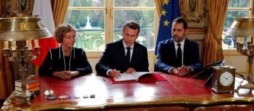 Emmanuel Macron a signé les ordonnances