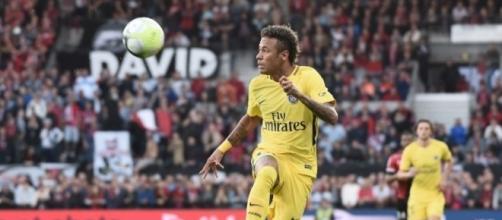 Guingamp-PSG : Première réussie pour Neymar - bfmtv.com