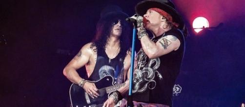 Guns N' Roses, Image Credit: Ed Vill / Wikimedia