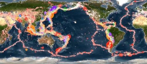 los terremotos que hubo en el mundo en 15 años, en un video - clarin.com