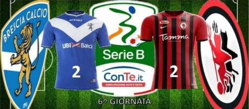 """Termina 2-2 il match del """"Rigamonti"""" tra Brescia e Foggia valido per la 6^ giornata del campionato di Serie B"""