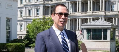 Treasury Secretary Steve Mnuchin's tax payer expense travel under review. / [Image by The White House via Flickr, Public Domain]