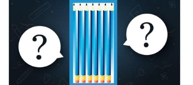 Conte quantos lápis você vê e veja qual seu resultado.