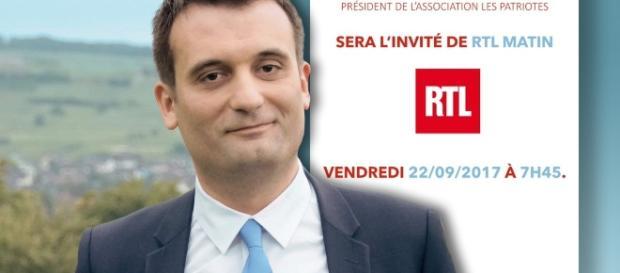 Florian Phillippot hace poco tiempo, cuando aún era uno de los hombres más poderosos en el FN francés.