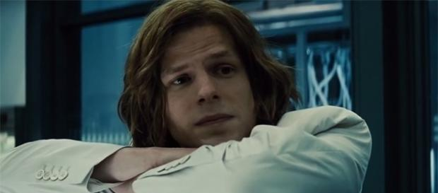"Jesse Eisenberg's Lex Luthor did not make the final cut in ""Justice League."" (YouTube/Gunnar Thorstenson)"