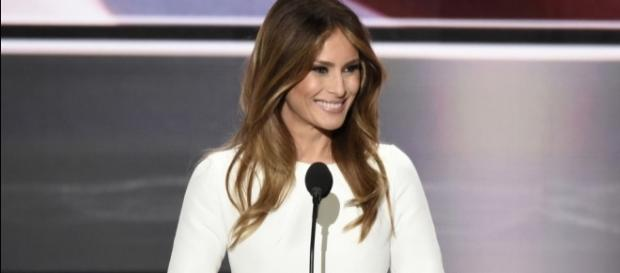 Melania Trump has a foreign accent. [Image via Flickr/Disney ABC]