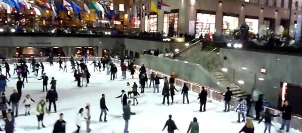 The Rink at Rockefeller Center. Photo credit: Youtube/Iain Henderson (IainH124A)