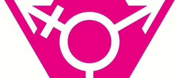Transgender symbol via Wikimedia Commons