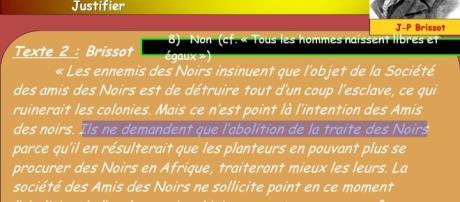 Pensées de Jacques Pierre Brissot, chef de file des Girondins à la Révolution Française