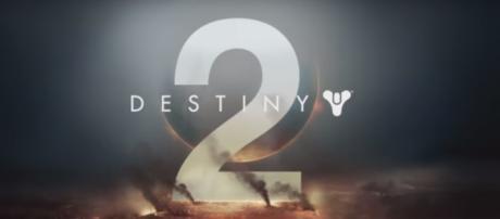 "[jackfrags/YouTube screencap] ""Destiny 2"" title screen"