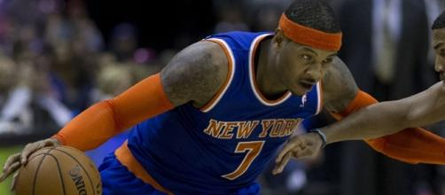 Carmelo Anthony finally finds a new home with the Oklahoma City Thunder. [Image Credit: Keith Allison/Flickr]