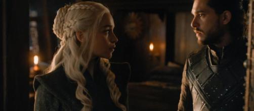 Finale di stagione della settima stagione: Daenerys e Jon Snow vanno a letto insieme