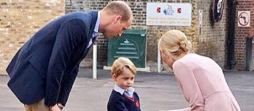 Prince George is not allowed to have a best friend at school [Image: The Telegraph/YouTube screenshot]