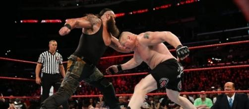 Strowman vs Lesnar y Joe vs Lesnar han sido grandes decepciones en el año. WWE.com.