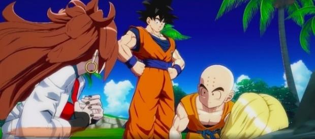 'Dragon Ball FighterZ' Story Mode cutscene, gameplay for new characters revealed(DBZantoZ/YouTube Screenshot)
